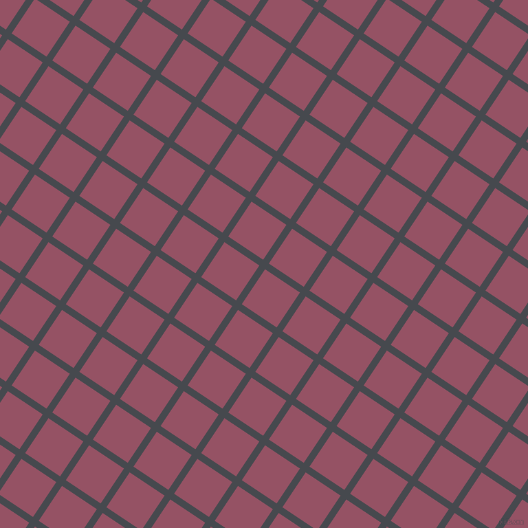 56/146 degree angle diagonal checkered chequered lines, 10 pixel lines width, 61 pixel square size, Tuna and Vin Rouge plaid checkered seamless tileable