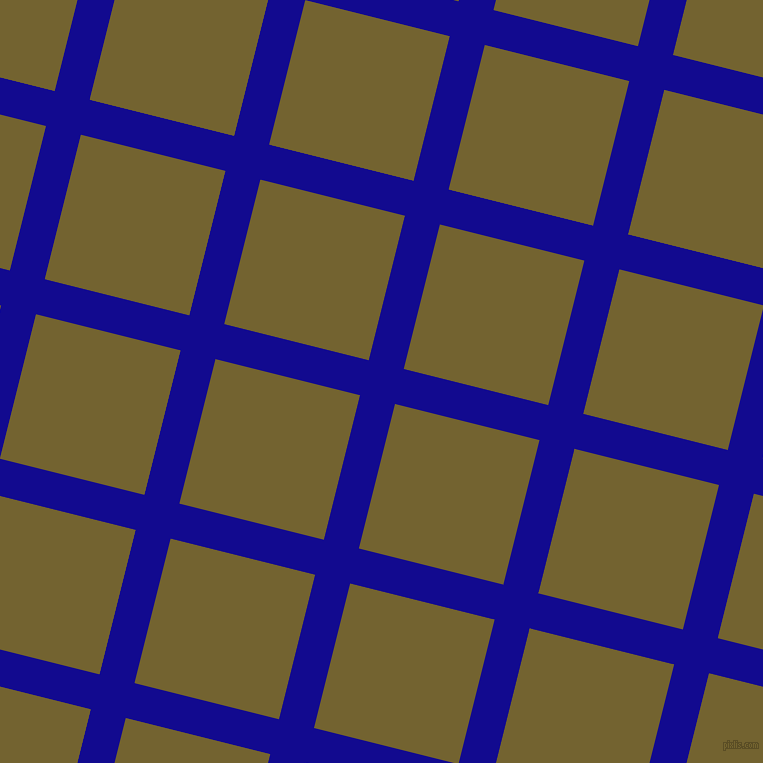 76/166 degree angle diagonal checkered chequered lines, 36 pixel line width, 149 pixel square size, Ultramarine and Himalaya plaid checkered seamless tileable