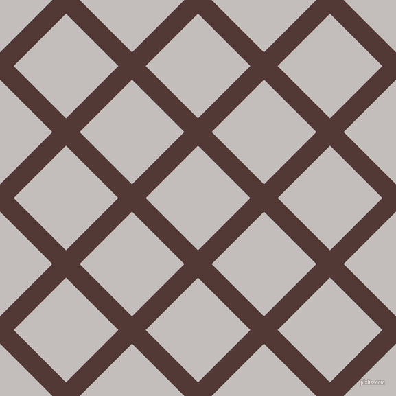 45/135 degree angle diagonal checkered chequered lines, 28 pixel line width, 108 pixel square size, Van Cleef and Pale Slate plaid checkered seamless tileable