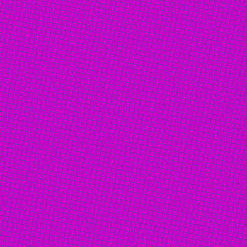 79/169 degree angle diagonal checkered chequered lines, 1 pixel lines width, 15 pixel square size, Venice Blue and Deep Magenta plaid checkered seamless tileable