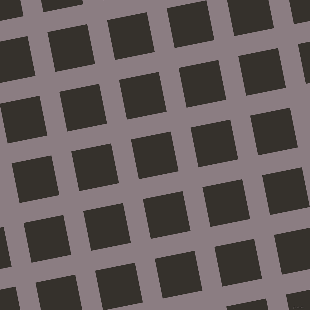 11/101 degree angle diagonal checkered chequered lines, 65 pixel line width, 130 pixel square size, Venus and Acadia plaid checkered seamless tileable
