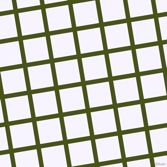 9/99 degree angle diagonal checkered chequered lines, 15 pixel line width, 78 pixel square size, Verdun Green and Magnolia plaid checkered seamless tileable