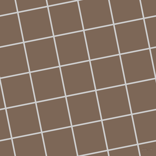 11/101 degree angle diagonal checkered chequered lines, 5 pixel line width, 96 pixel square size, Very Light Grey and Roman Coffee plaid checkered seamless tileable