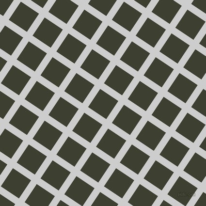 56/146 degree angle diagonal checkered chequered lines, 14 pixel lines width, 45 pixel square size, Very Light Grey and Scrub plaid checkered seamless tileable