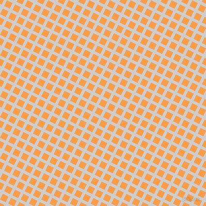 63/153 degree angle diagonal checkered chequered lines, 6 pixel lines width, 13 pixel square size, Very Light Grey and Sunshade plaid checkered seamless tileable