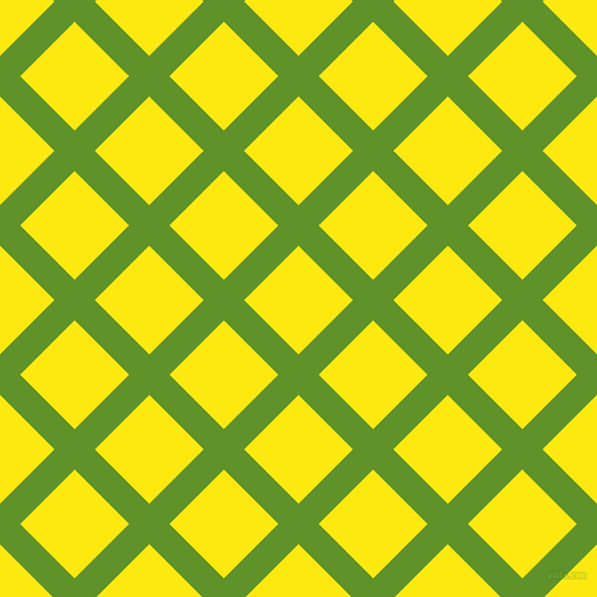 45/135 degree angle diagonal checkered chequered lines, 26 pixel line width, 70 pixel square size, Vida Loca and Lemon plaid checkered seamless tileable