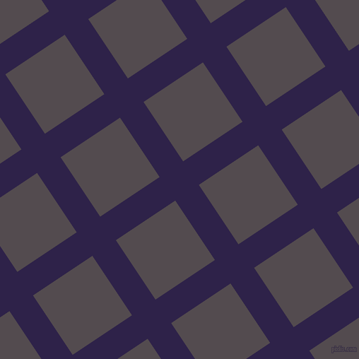 34/124 degree angle diagonal checkered chequered lines, 40 pixel lines width, 101 pixel square sizeViolent Violet and Liver plaid checkered seamless tileable