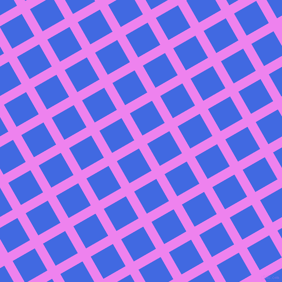 30/120 degree angle diagonal checkered chequered lines, 19 pixel lines width, 51 pixel square size, Violet and Royal Blue plaid checkered seamless tileable