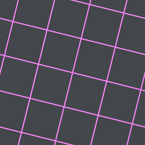 76/166 degree angle diagonal checkered chequered lines, 4 pixel lines width, 109 pixel square size, Violet and Steel Grey plaid checkered seamless tileable