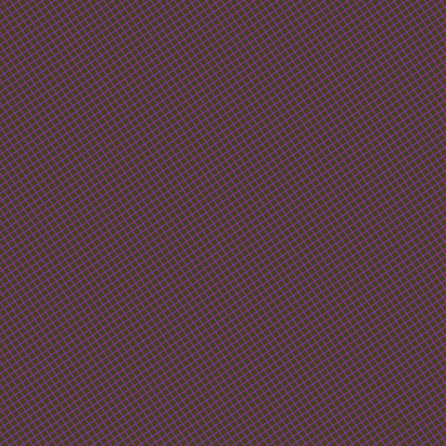 34/124 degree angle diagonal checkered chequered lines, 1 pixel lines width, 5 pixel square size, Vivid Violet and Madras plaid checkered seamless tileable