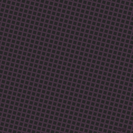 76/166 degree angle diagonal checkered chequered lines, 5 pixel line width, 10 pixel square size, Voodoo and Nero plaid checkered seamless tileable
