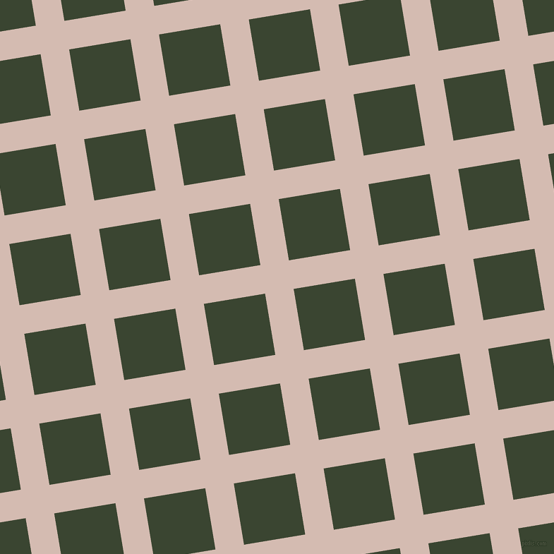 9/99 degree angle diagonal checkered chequered lines, 41 pixel lines width, 88 pixel square size, Wafer and Mallard plaid checkered seamless tileable