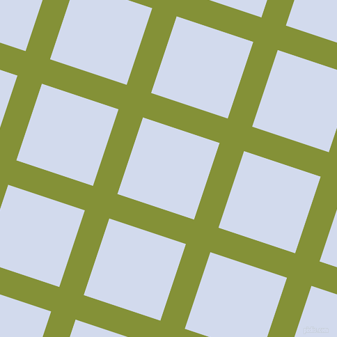 72/162 degree angle diagonal checkered chequered lines, 37 pixel lines width, 116 pixel square size, Wasabi and Hawkes Blue plaid checkered seamless tileable
