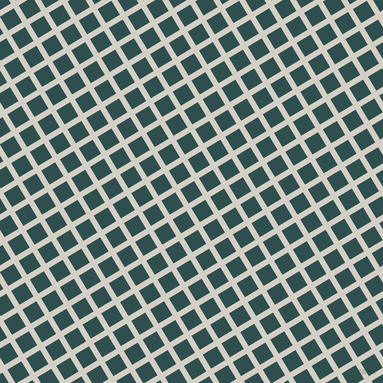 31/121 degree angle diagonal checkered chequered lines, 11 pixel lines width, 32 pixel square size, Westar and Dark Slate Grey plaid checkered seamless tileable
