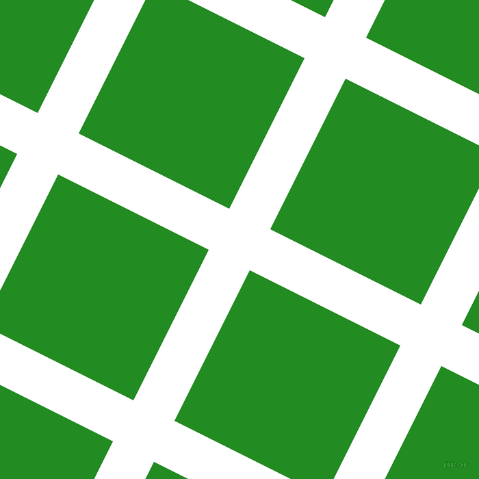 63/153 degree angle diagonal checkered chequered lines, 67 pixel line width, 246 pixel square sizeWhite and Forest Green plaid checkered seamless tileable