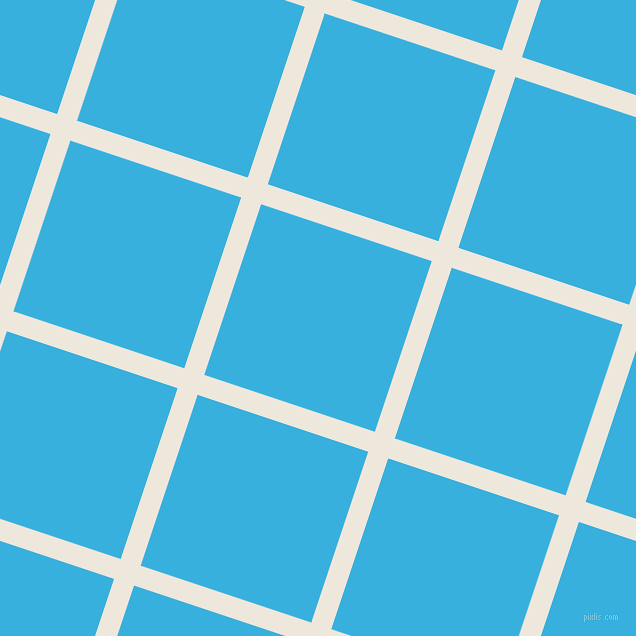 72/162 degree angle diagonal checkered chequered lines, 21 pixel lines width, 180 pixel square size, White Linen and Summer Sky plaid checkered seamless tileable