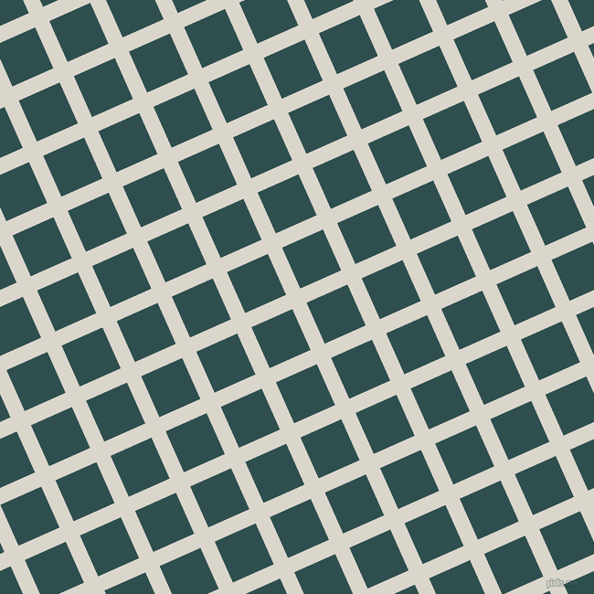 24/114 degree angle diagonal checkered chequered lines, 17 pixel lines width, 49 pixel square size, White Pointer and Dark Slate Grey plaid checkered seamless tileable