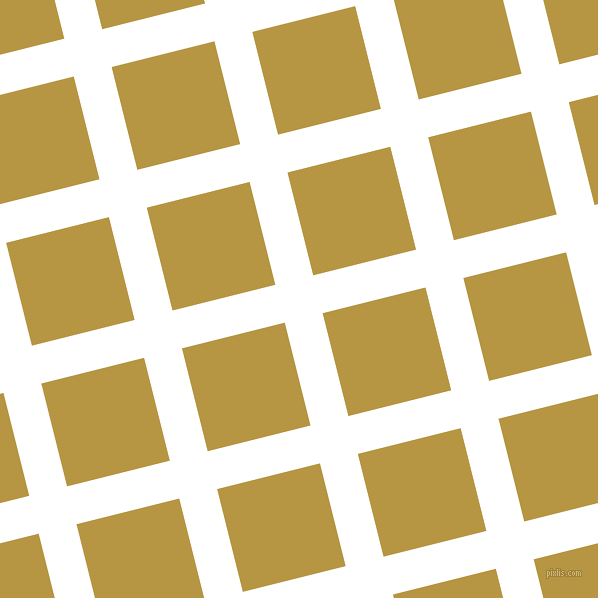 14/104 degree angle diagonal checkered chequered lines, 39 pixel line width, 106 pixel square size, White and Roti plaid checkered seamless tileable
