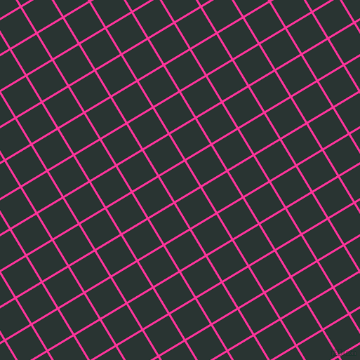 31/121 degree angle diagonal checkered chequered lines, 3 pixel lines width, 41 pixel square size, Wild Strawberry and Aztec plaid checkered seamless tileable