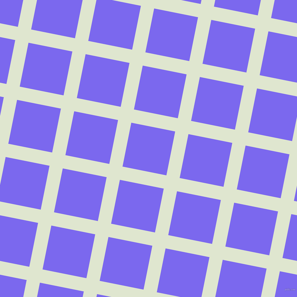 79/169 degree angle diagonal checkered chequered lines, 45 pixel lines width, 149 pixel square size, Willow Brook and Medium Slate Blue plaid checkered seamless tileable
