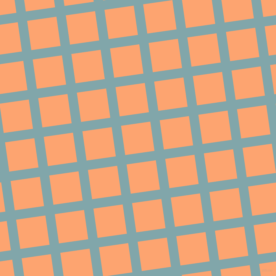 8/98 degree angle diagonal checkered chequered lines, 32 pixel lines width, 100 pixel square size, Ziggurat and Hit Pink plaid checkered seamless tileable