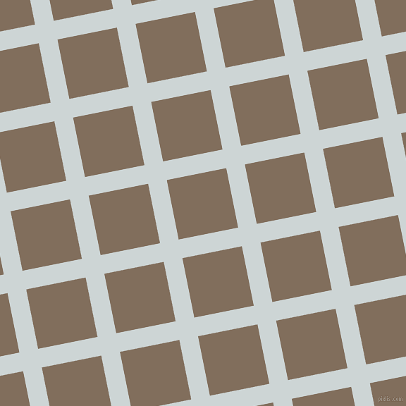 11/101 degree angle diagonal checkered chequered lines, 27 pixel line width, 86 pixel square size, Zumthor and Donkey Brown plaid checkered seamless tileable