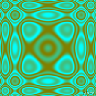 , Aqua and Olive plasma wave seamless tileable