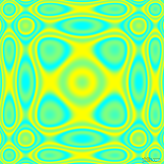 , Aqua and Yellow plasma wave seamless tileable
