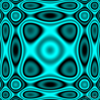 Black and Aqua plasma wave seamless tileable
