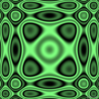 , Black and Mint Green plasma wave seamless tileable