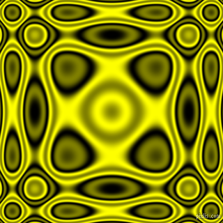 , Black and Yellow plasma wave seamless tileable