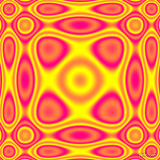 Deep Pink and Yellow plasma wave seamless tileable