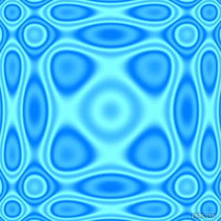 , Dodger Blue and Electric Blue plasma wave seamless tileable