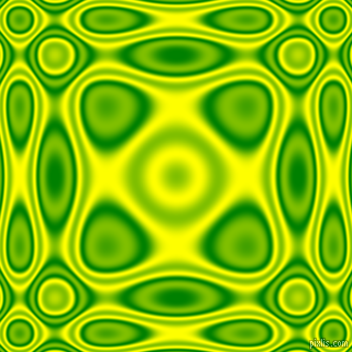Green and Yellow plasma wave seamless tileable