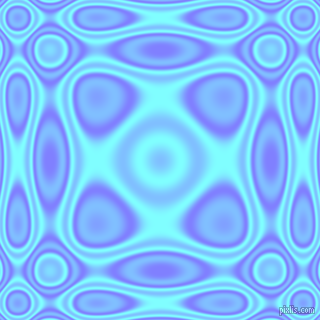 , Light Slate Blue and Electric Blue plasma wave seamless tileable
