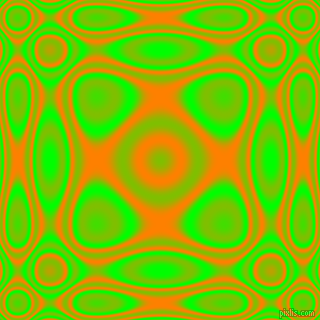, Lime and Dark Orange plasma wave seamless tileable
