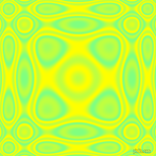 Mint Green and Yellow plasma wave seamless tileable
