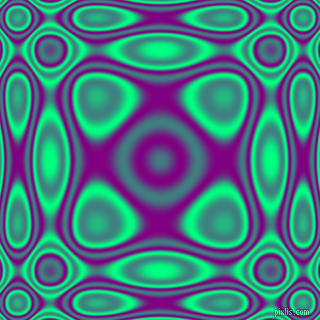 Spring Green and Purple plasma wave seamless tileable