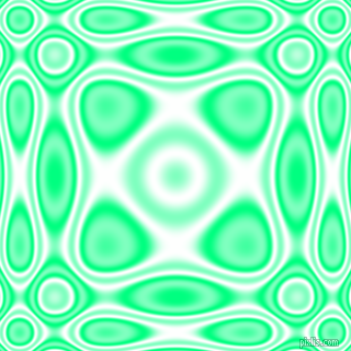 , Spring Green and White plasma wave seamless tileable