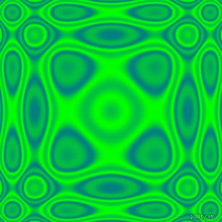 , Teal and Lime plasma wave seamless tileable
