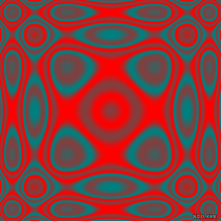 Teal and Red plasma wave seamless tileable