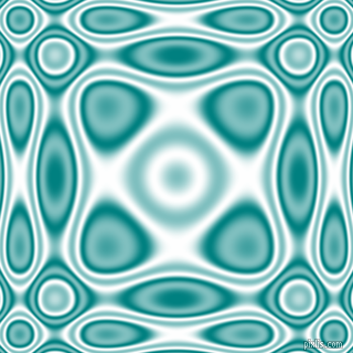 Teal and White plasma wave seamless tileable