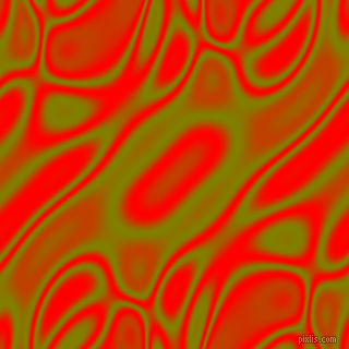 , Olive and Red plasma waves seamless tileable