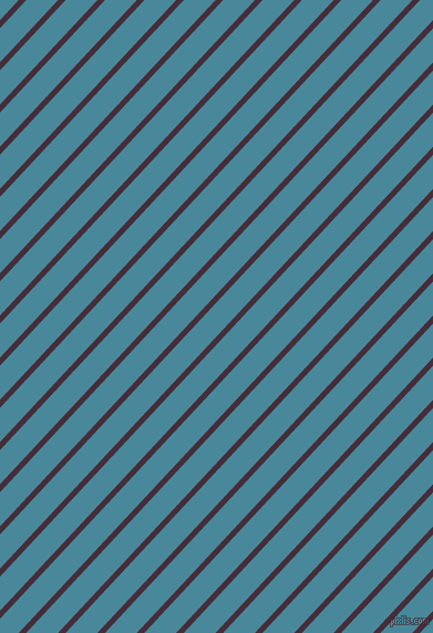47 degree angle lines stripes, 5 pixel line width, 21 pixel line spacing, Barossa and Hippie Blue stripes and lines seamless tileable