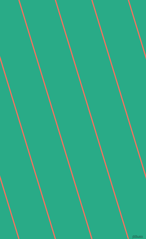 107 degree angle lines stripes, 4 pixel line width, 116 pixel line spacing, Bittersweet and Jungle Green stripes and lines seamless tileable