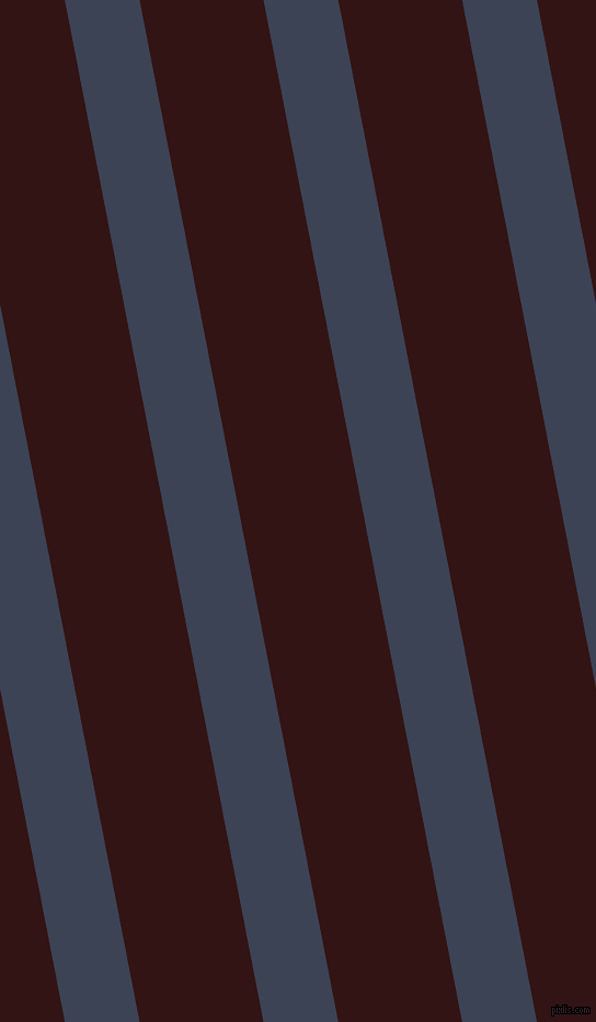 101 degree angle lines stripes, 67 pixel line width, 111 pixel line spacing, Blue Zodiac and Seal Brown stripes and lines seamless tileable