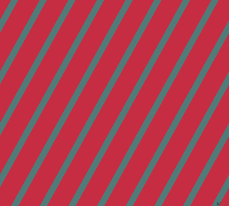 61 degree angle lines stripes, 21 pixel line width, 62 pixel line spacing, Breaker Bay and Brick Red stripes and lines seamless tileable
