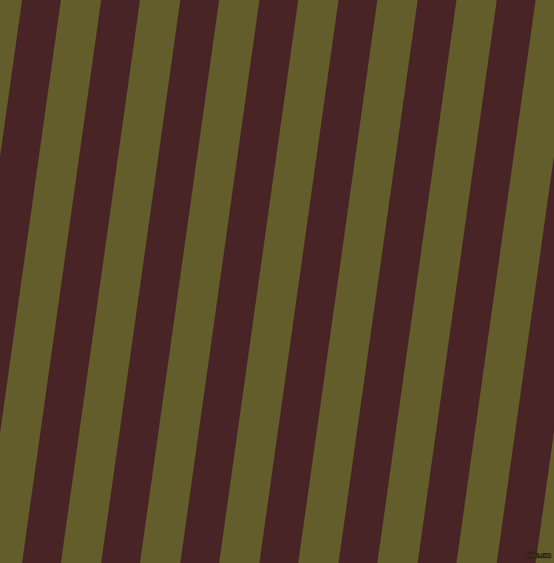82 degree angle lines stripes, 55 pixel line width, 57 pixel line spacing, Bulgarian Rose and Costa Del Sol stripes and lines seamless tileable