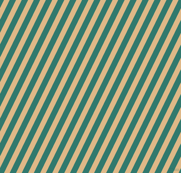 64 degree angle lines stripes, 17 pixel line width, 19 pixel line spacing, Burly Wood and Genoa stripes and lines seamless tileable