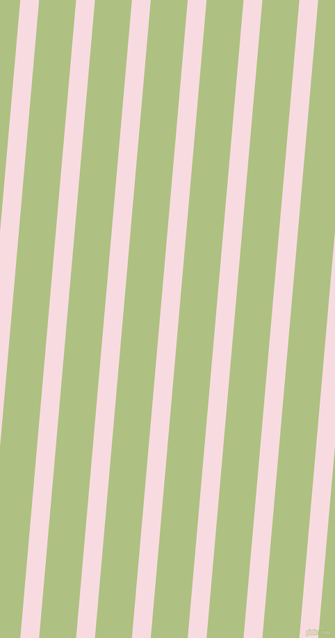 85 degree angle lines stripes, 27 pixel line width, 53 pixel line spacing, Carousel Pink and Caper stripes and lines seamless tileable
